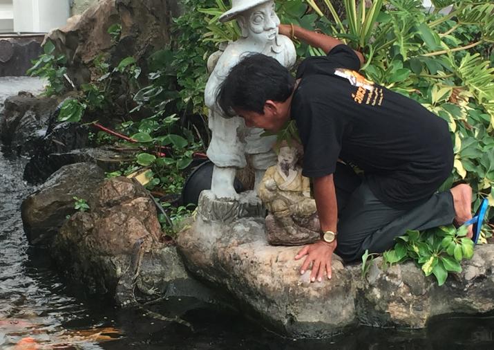 Chasseur de varans - Bangkok Sous le soleil de Phangan - Thailande