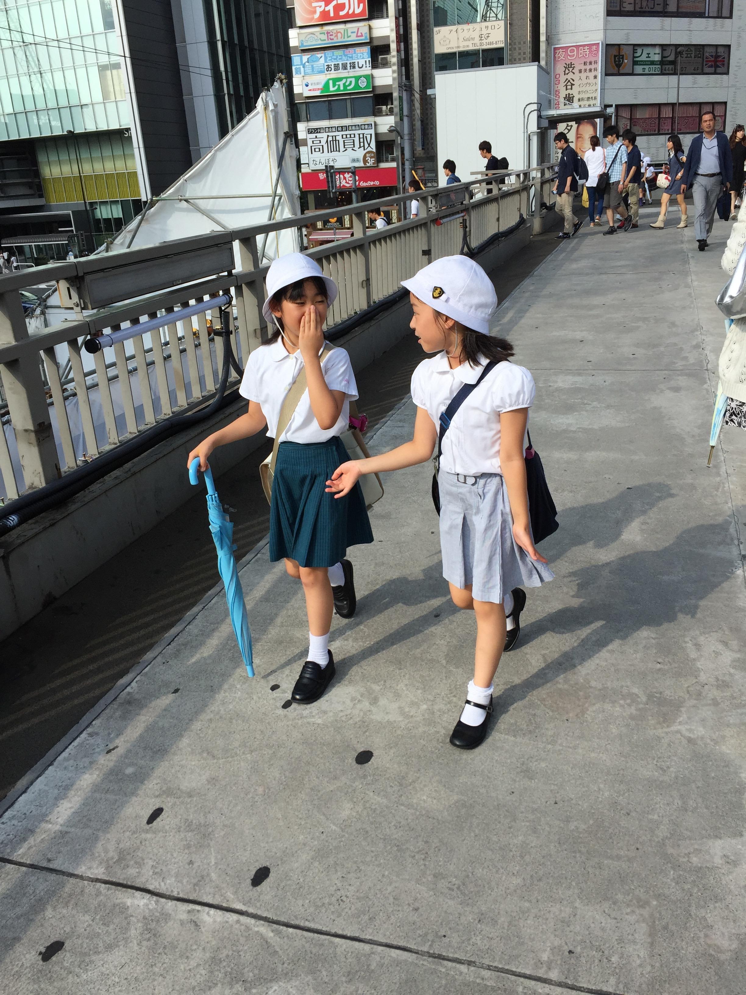 Écolières - Tokyo – Japon