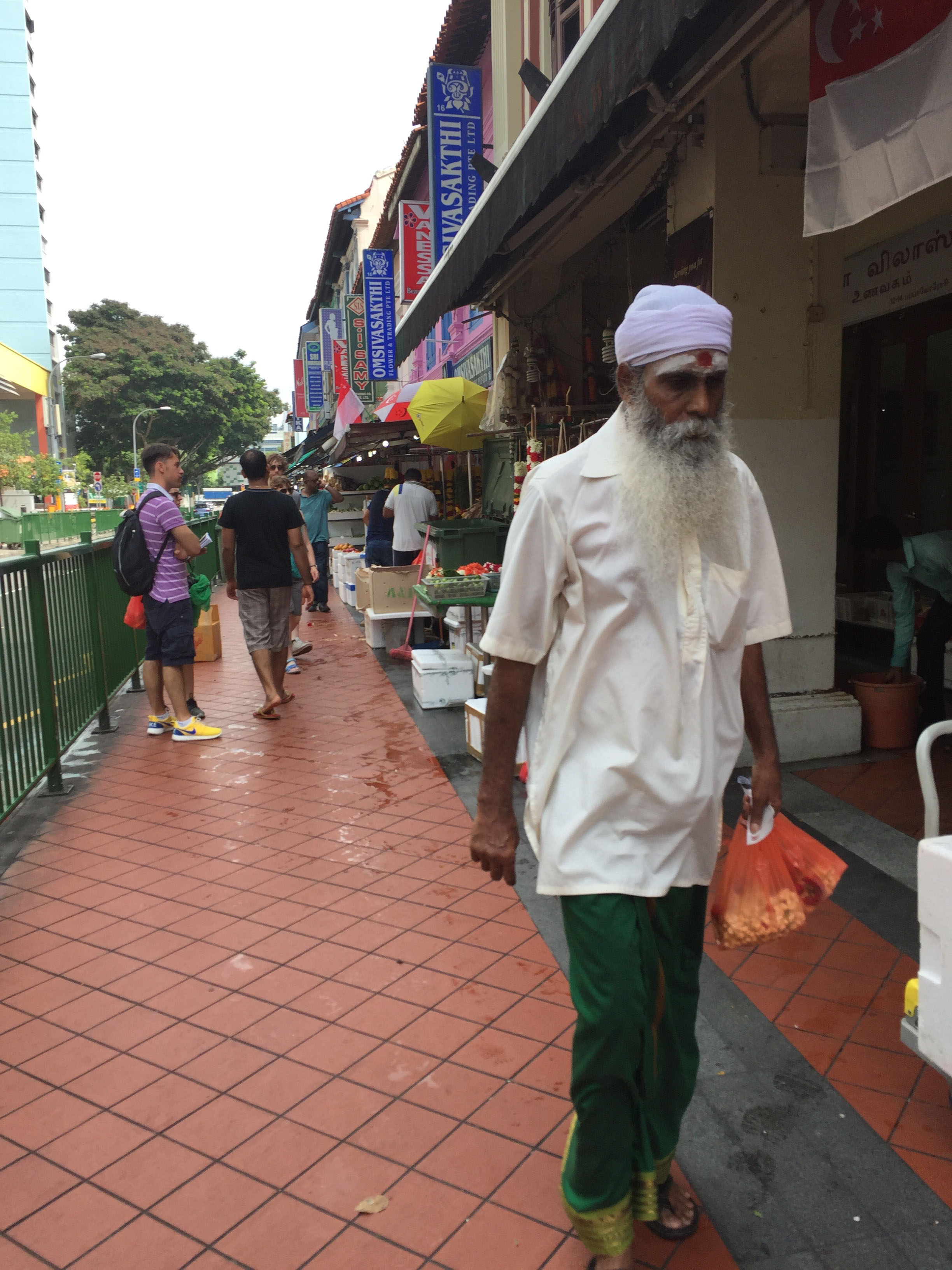 Indian Style - Singapour