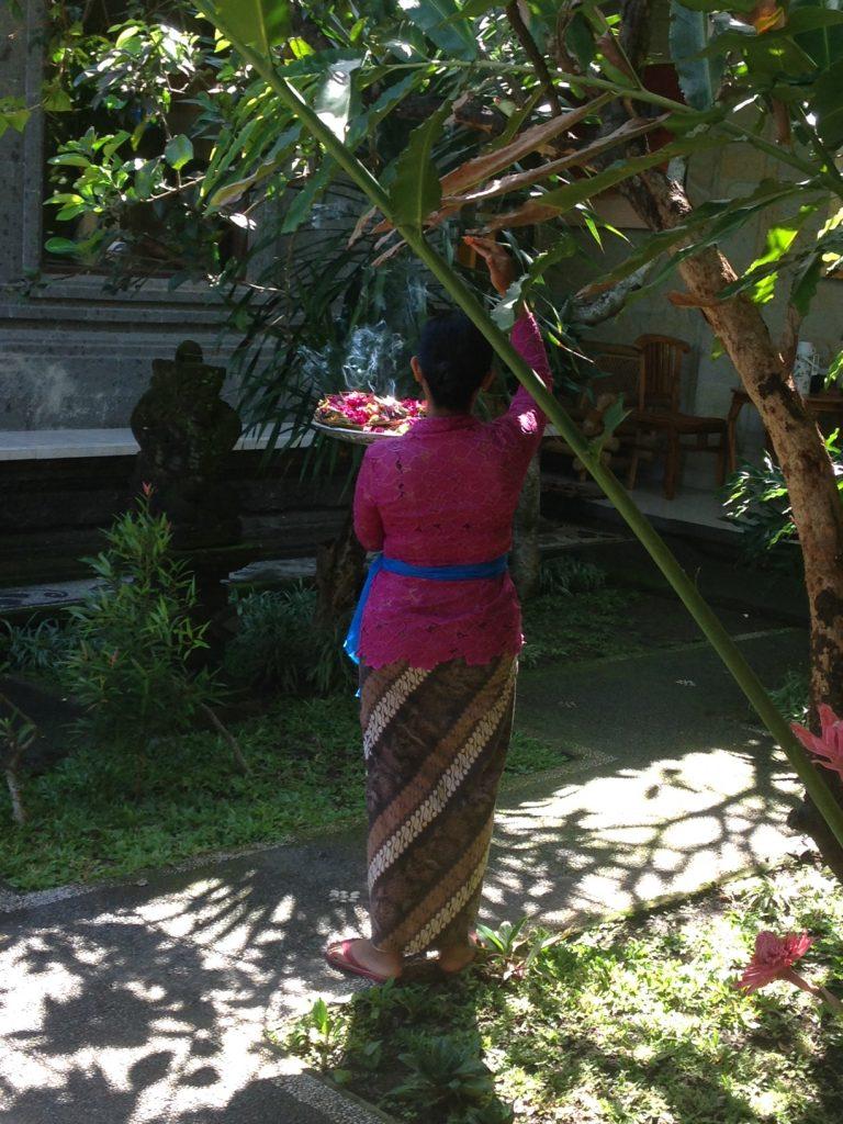 Bali - offrandes 2