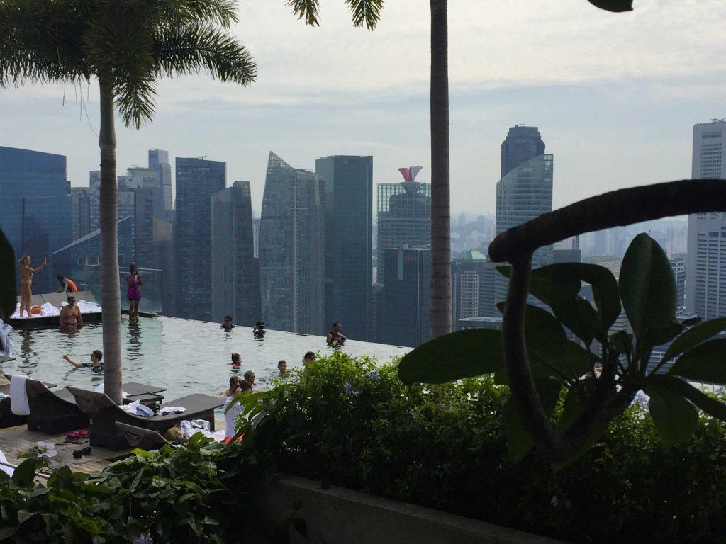 marina bay sand hotel singapour