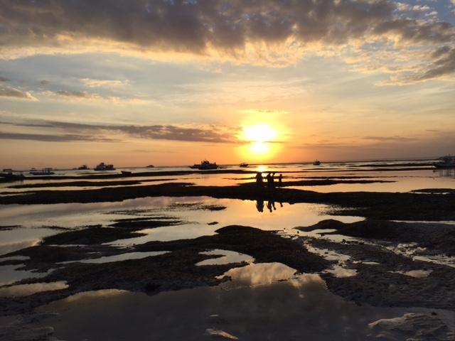 coucher de soleil Nusa Lembongan