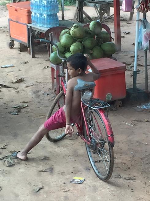 Sur la route - Cambodge