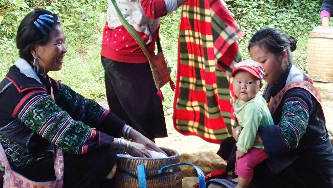 En famille - Sapa - Vietnam